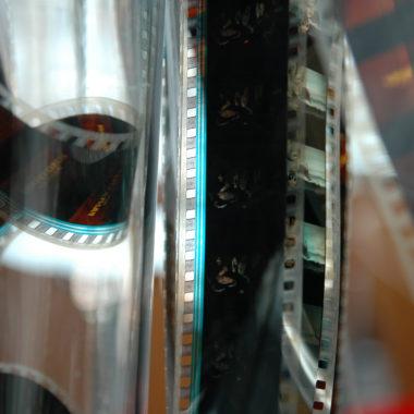 Filmrolle flimmern und rauschen // HIMBEER