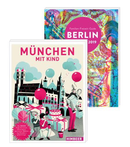 München mit Kind Buch Mediadatem // HIMBEER