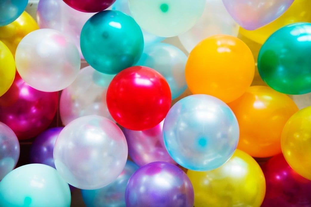 bunte Luftballons, Kinderfasching, Münchens Beste // München mit Kind