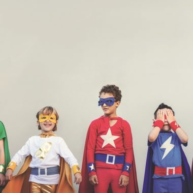 Mama Monaco, Superhero kids with superpowers