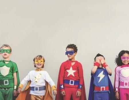 Mama Monaco, Superhero kids with superpowers