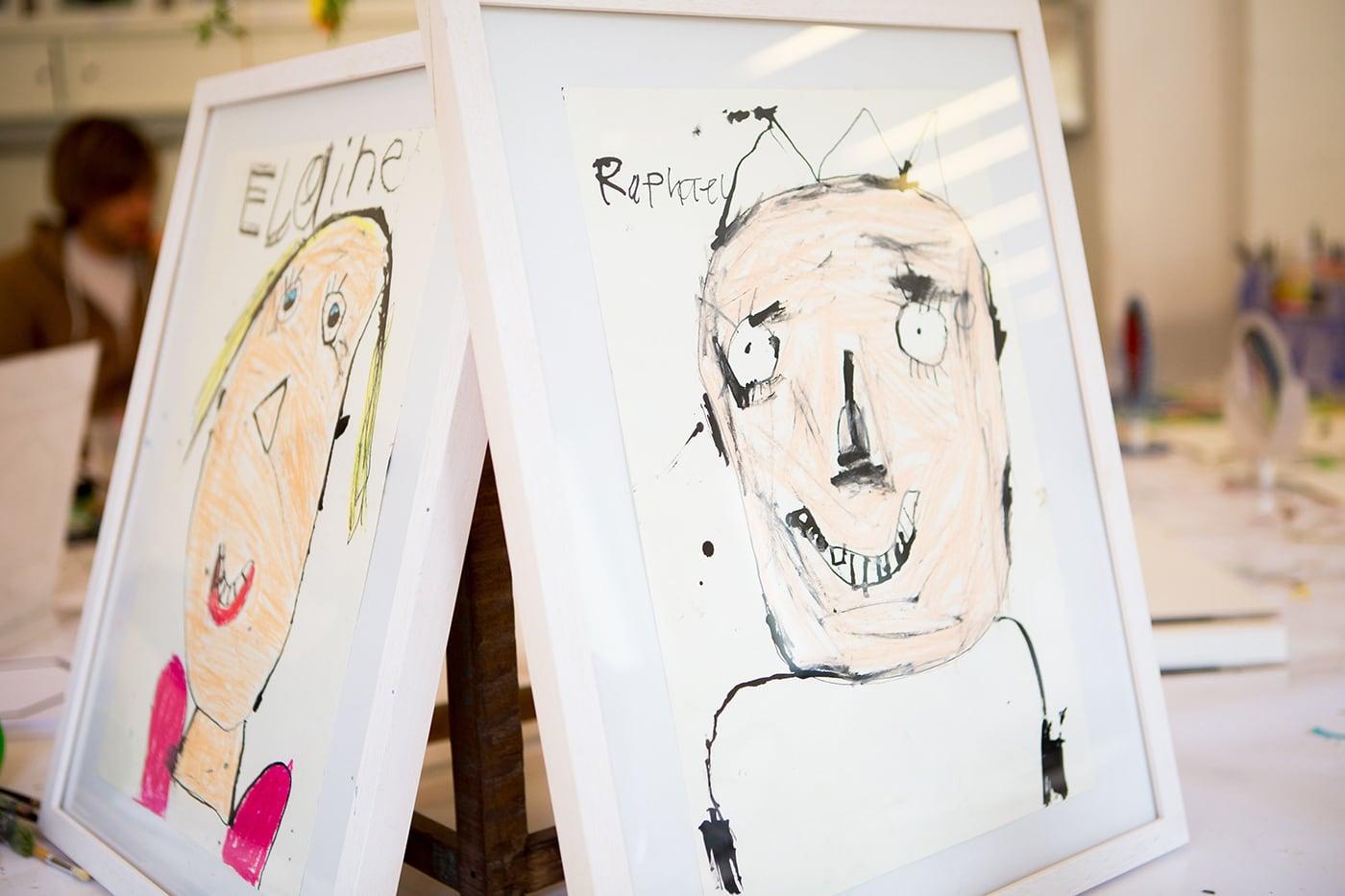 Kinderkunsthaus Portraits Kreativkuse // HIMBEER