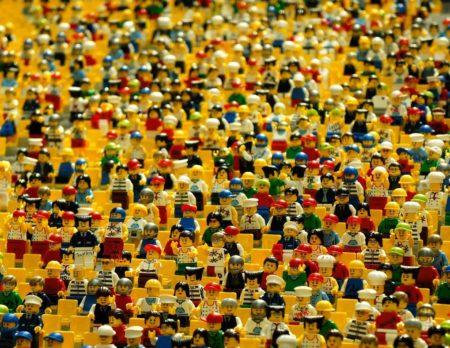 kunst.baustelle Lego Maennchen // HIMBEER