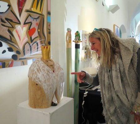 Kunst im Gut Koenig Skulptur // HIMBEER