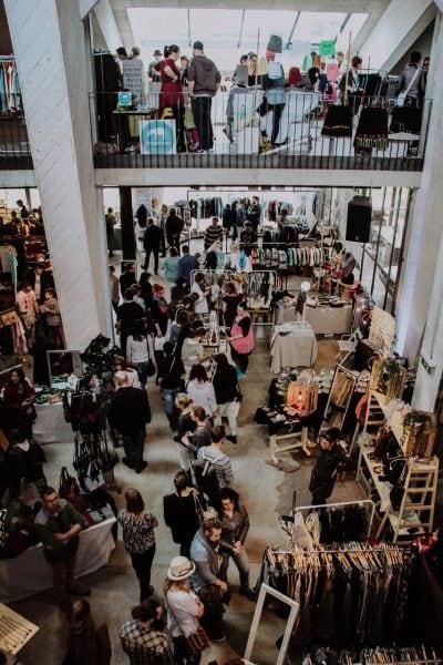 Kunst- und Designmarkt Ueberblick Menschen // HIMBEER