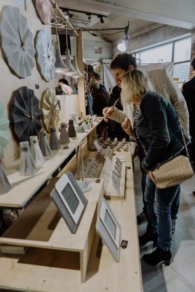 Kunst- und Designmarkt Shopping Markt // HIMBEER