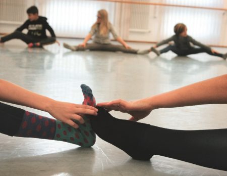 SpielBallett Tanzen Ballett Fuesse // HIMBEER