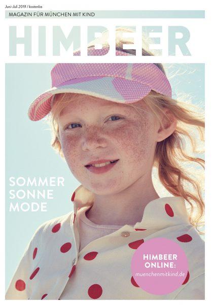 Das Münchner Familienmagazin HIMBEER Juni-Juli 2019