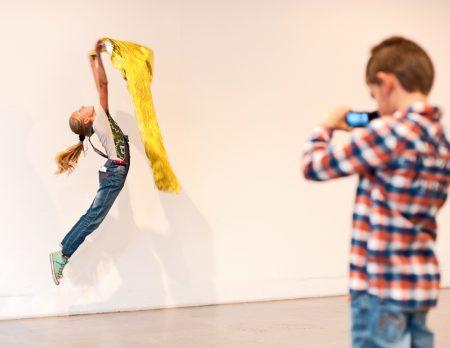 Kinder machen Medienkunst // HIMBEER