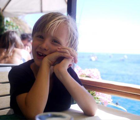 Familienurlaub in Ligurien mit Kindern: San Fruttuoso // HIMBEER