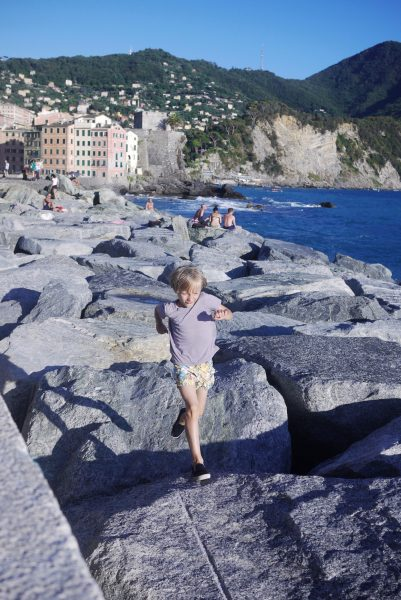 Familienurlaub in Ligurien mit Kindern: Camogli // HIMBEER