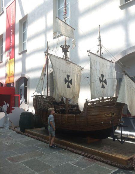 Top-Familienurlaubsziele für Familien am Mittelmeer: Genua Meeresmuseum // HIMBEER