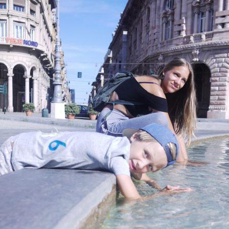 Top-Familienurlaubsziele am Mittelmeer: Genua prächtige Altstadt // HIMBEER