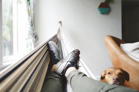 Ferienluchs Haegematte Entspannung // HIMBEER