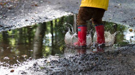 Ferienluchs Matsch Regen // HIMBEER