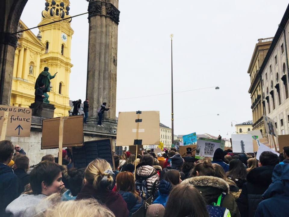 Fridays for Future-Demo in München // HIMBEER