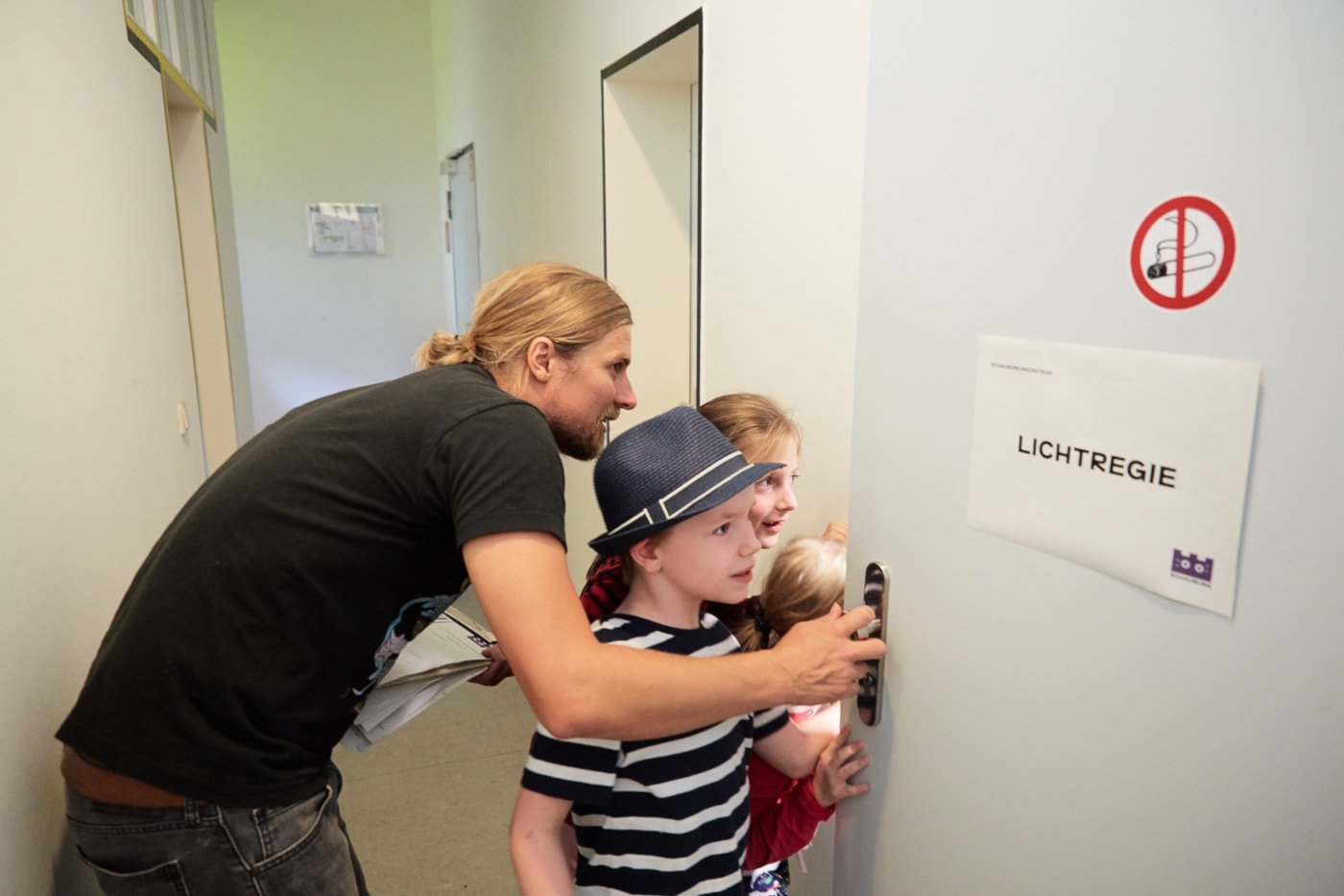 Theaterfest Schauburg Kinder Hinter den Kulissen // HIMBEER