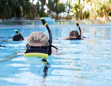 Virtual Reality Snorkling Therme Erding // HIMBEER