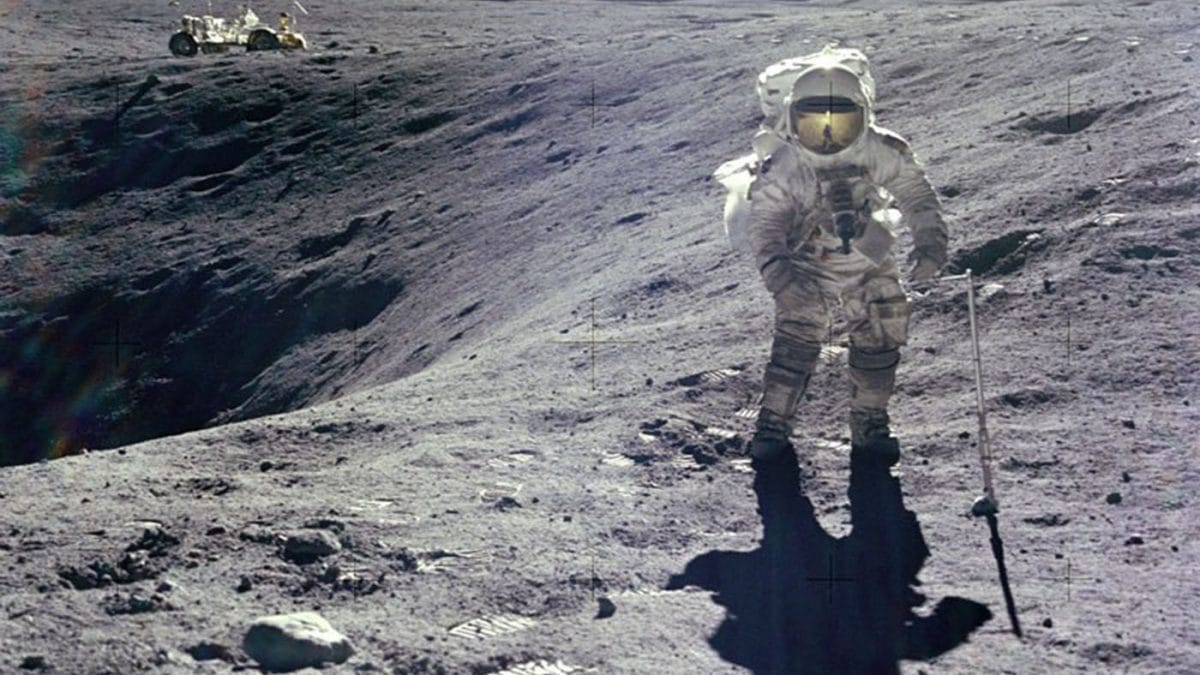 Mondlandung Astronaut // HIMBEER