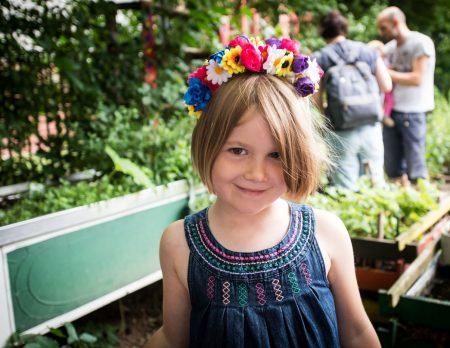 Dschungelpalast Sommerfest Blumenkranz // HIMBEER
