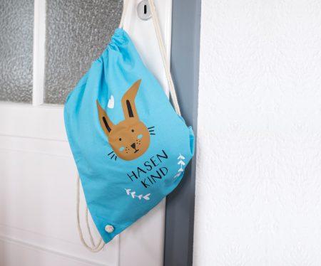 Herzlichst Hasenkindbeutel Made in Munich lokale Produkte // HIMBEER