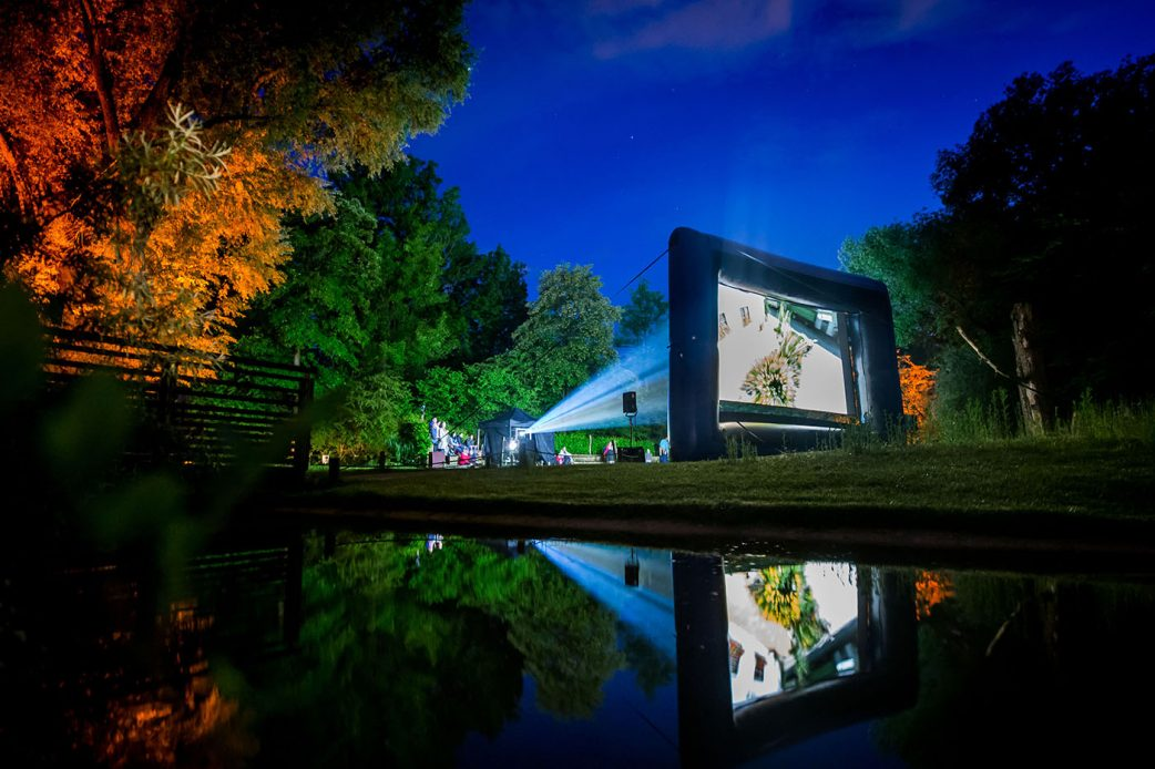 Kino-Open-Air in der Hellabrunn Arena // HIMBEER