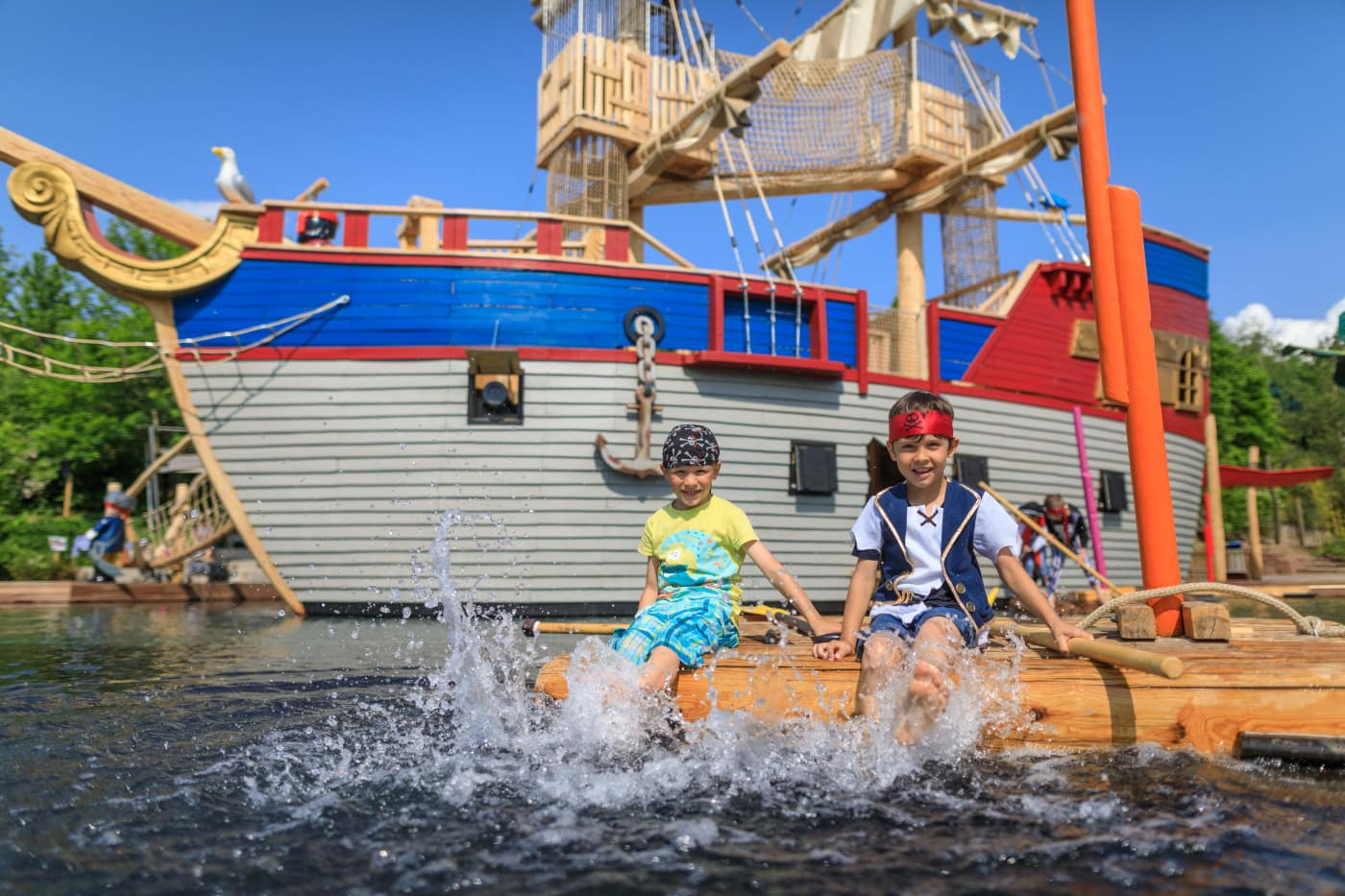 Playmobil Funpark Schiff planschen Kinder Piraten // HIMBEER