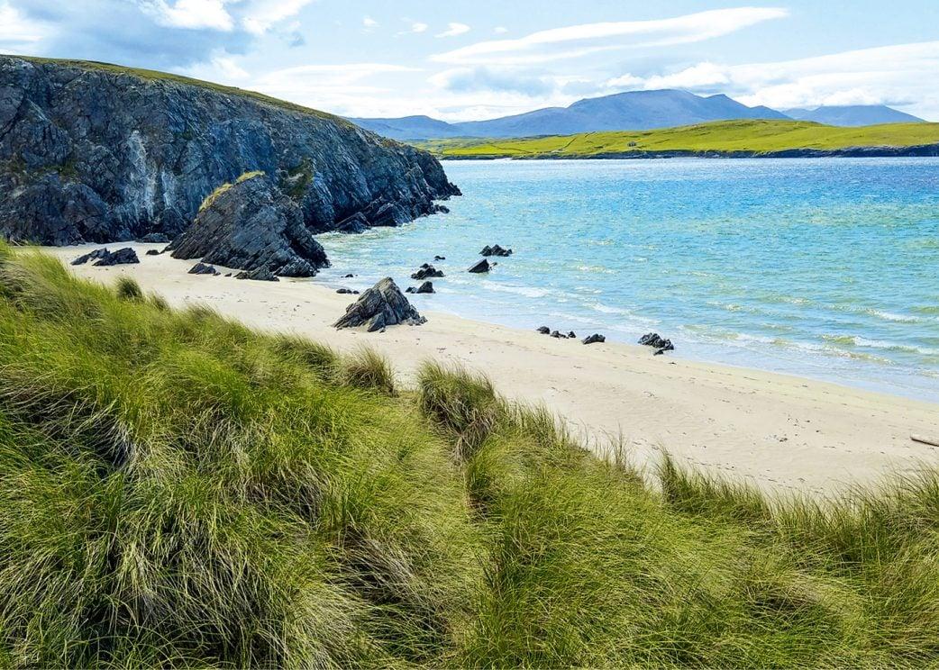 Reisen mit Kindern: Naturstrände in Schottland // HIMBEER