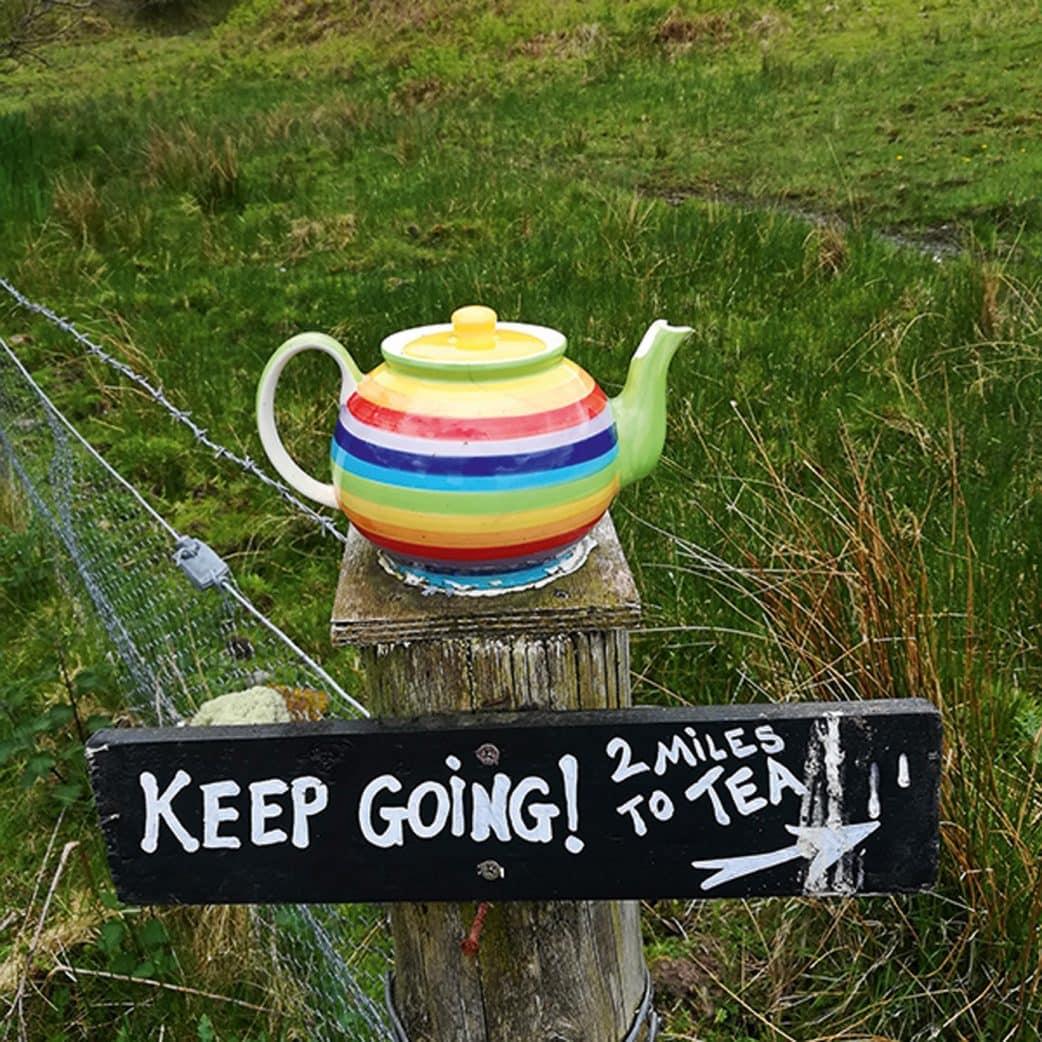 Familienurlaub: Wandern mit Teepause in Schottland // HIMBEER