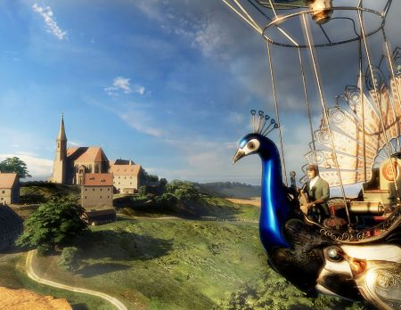 Virtual Reality Kloster Andechs // HIMBEER