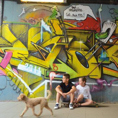 Ferienpass Muenchen Junge Maedchen Skaten // HIMBEER