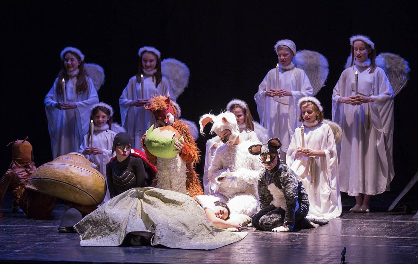 Haensel und Gretel Theater // HIMBEER