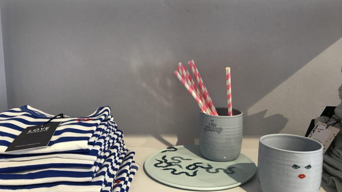 LOVE kidswear Keramik Accessoire // HIMBEER