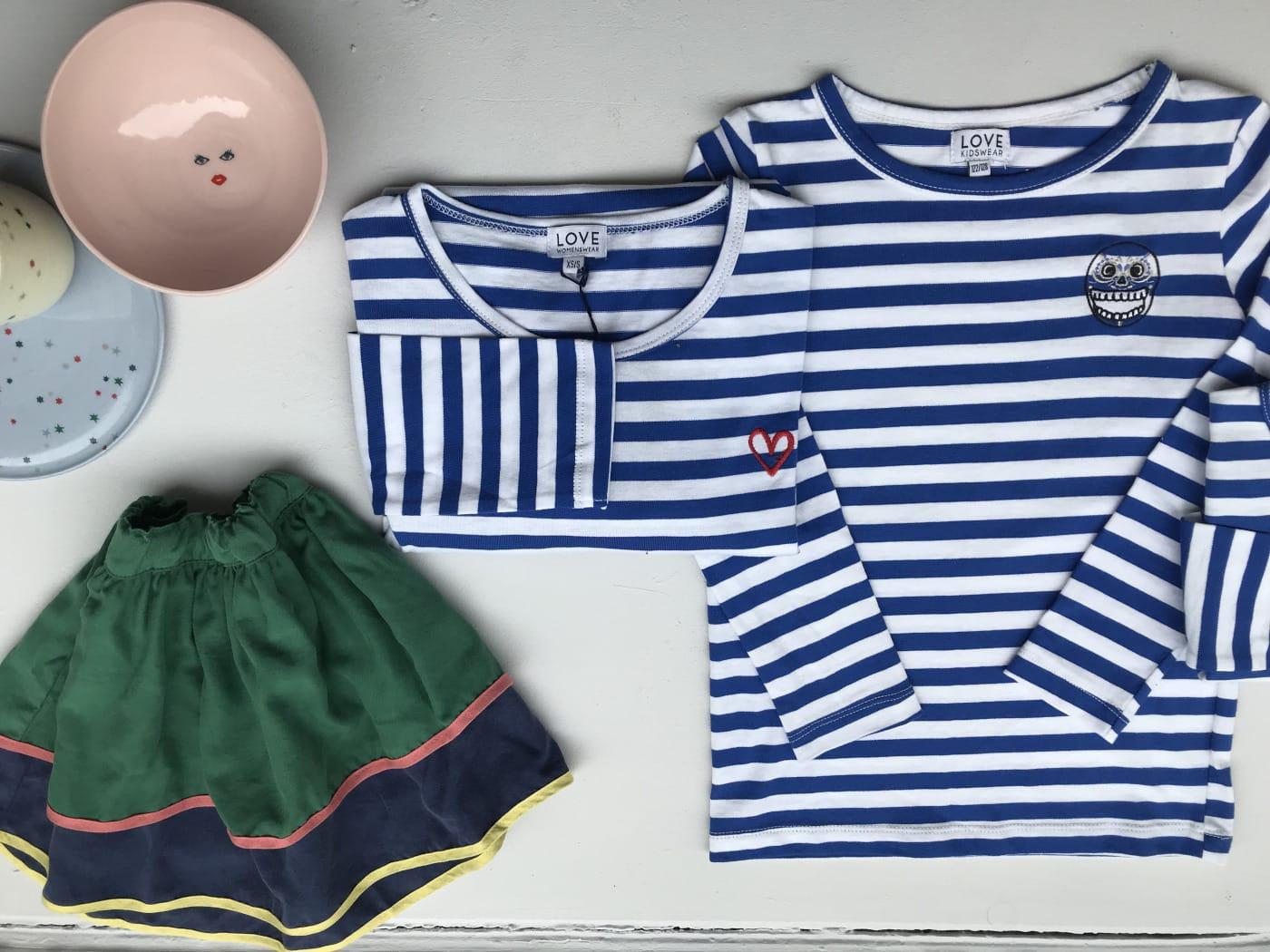 Kleidung LOVE kidswear // HIMBEER