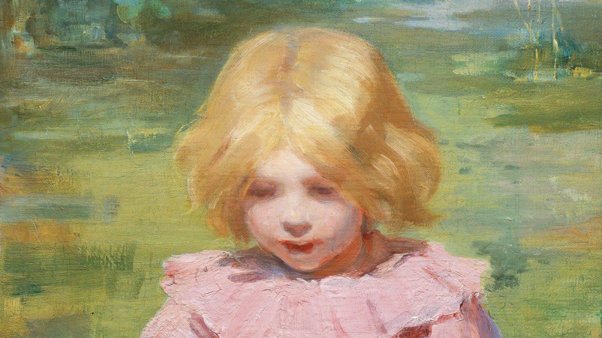 Kunst mit Baby Muntz Gemaelde // HIMBEER