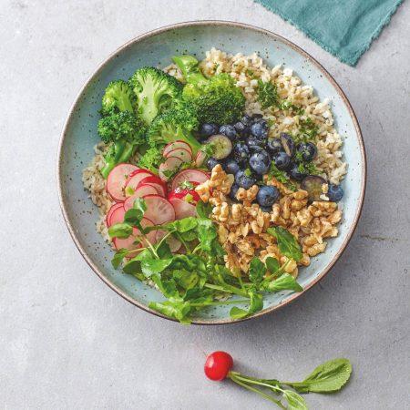 Superfood-Bowl // HIMBEER