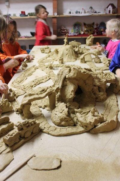 Keramik Murmelbahn Kindergeburtstag // HIMBEER