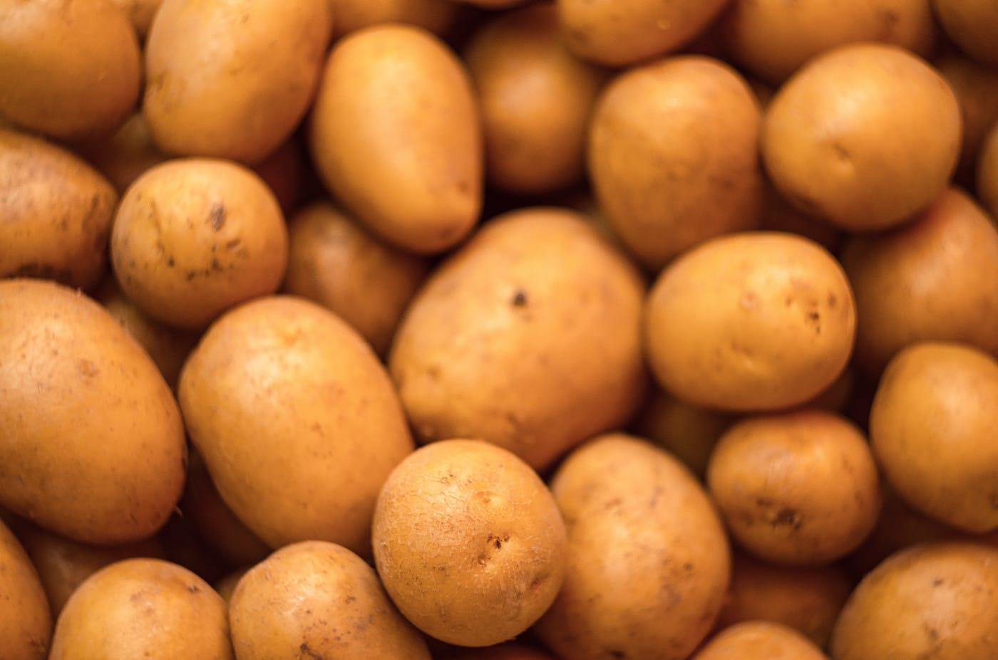 Kartoffeln für gefüllte Kartoffelklöße // HIMBEER