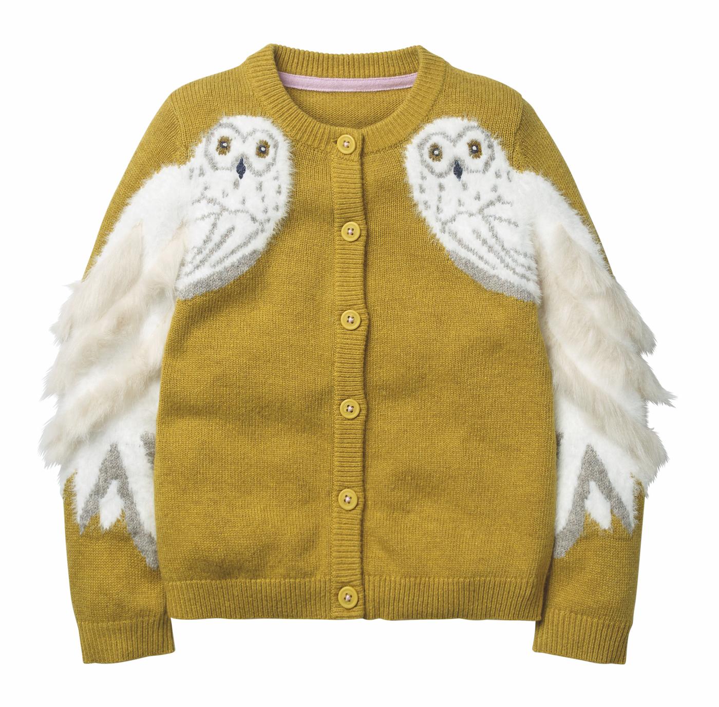 Mino Boden Cadigan Hedwig Harry Potter Lieblingssachen / HIMBEER