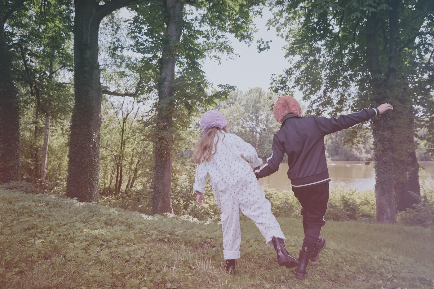 Kindermode Berlin Herbstschätze Modestrecke für Kinder // HIMBEER