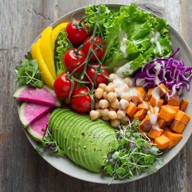 Ernährungsberatung Bowl Gesund // HIMBEER