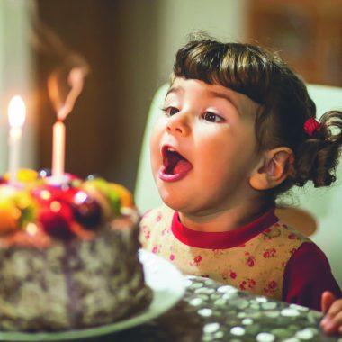 Kindergeburtstag Geburtstag Maedchen Kerzen // HIMBEER