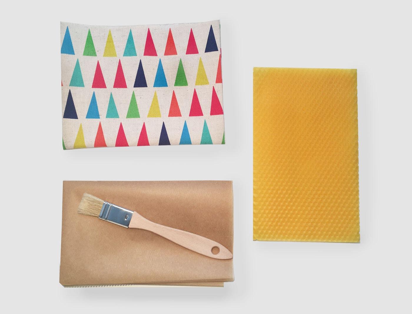 DIY: Bienenwachstücher selber herstellen als plastikfreie Alternative zur Frischhaltefolie // HIMBEER