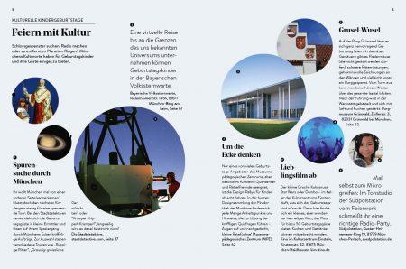 Familien-Freizeit-Guide MUENCHEN MIT KIND 2020, Blick ins Buch: Kindergeburtstag feiern in München // HIMBEER