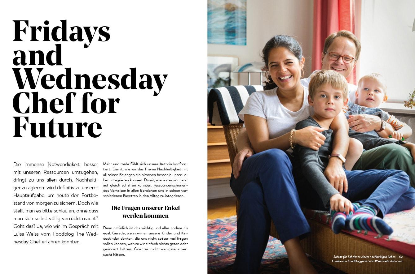 Familien-Freizeit-Guide MUENCHEN MIT KIND 2020, Blick ins Buch: Nachhaltiges Familienleben in München // HIMBEER