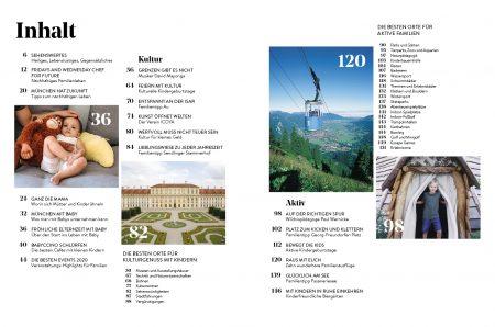 Familien-Freizeit-Guide MUENCHEN MIT KIND 2020, Blick ins Buch: Die besten Tipps für Familien mit Kindern in München // HIMBEER