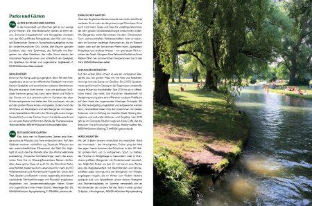 Familien-Freizeit-Guide MUENCHEN MIT KIND 2020, Blick ins Buch: Die besten Adressen in München für Familien // HIMBEER