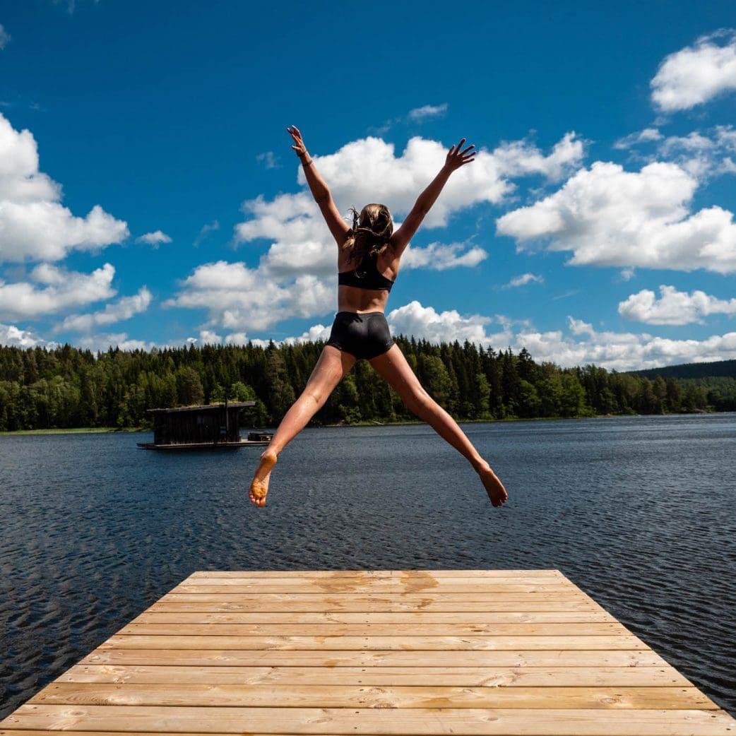 Urlaub mit Kindern in Schweden am See // HIMBEER