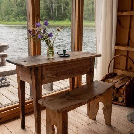 Urlaub mit Kindern in Schweden auf einem Hausboot – Innenraum // HIMBEER