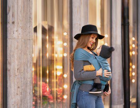 München mit Baby: Kokadi Pop Up Shop Trage // HIMBEER
